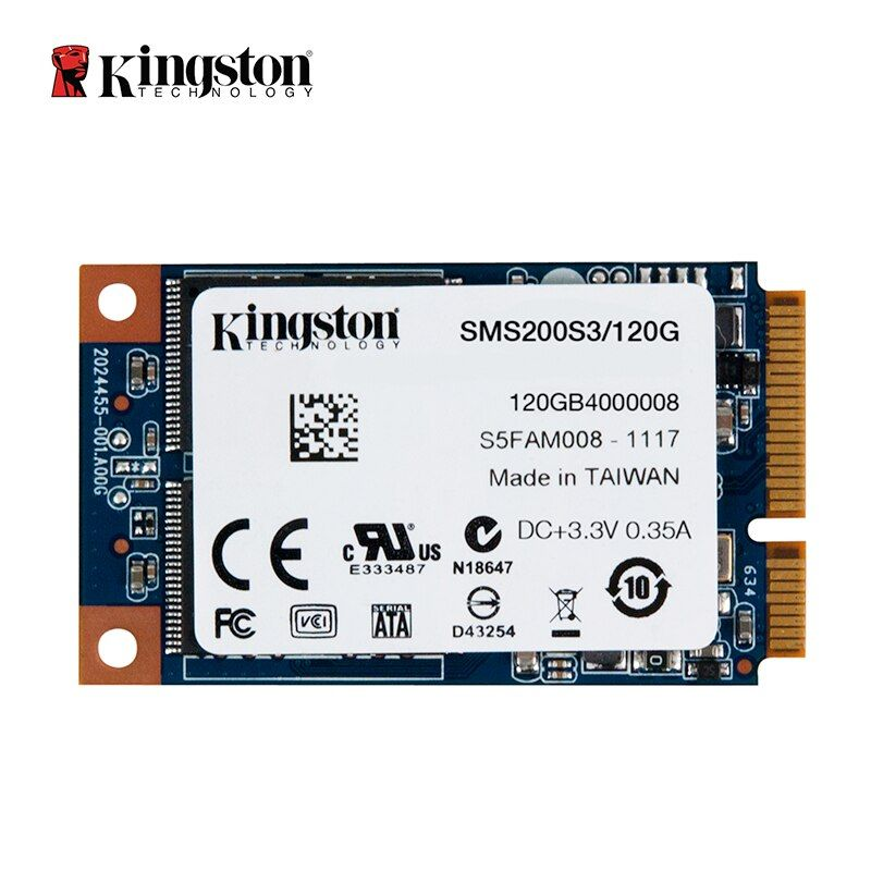 Kingston SSDNow mS200 Stick mSATA SSD solid state drive 120 GB Interne Solid State Drive Festplatte Für Laptop Notebook