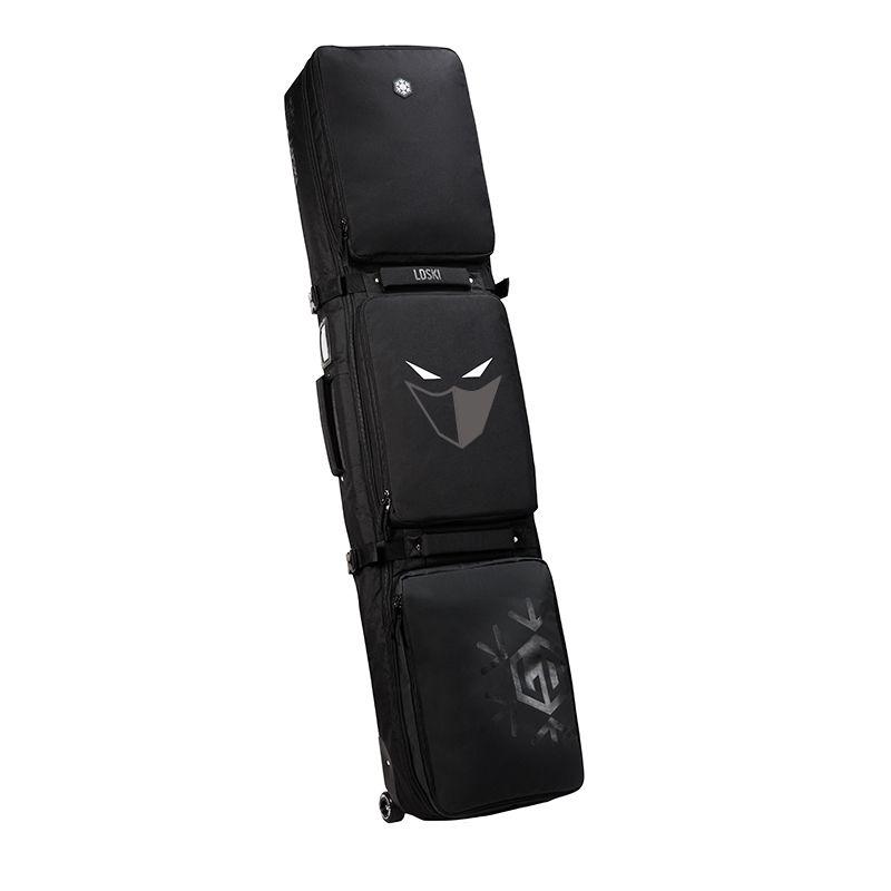 Snowboard Ski Roller Bag With Wheels 155cm 165cm 175 Large Capacity Waterproof Wearable Skying Bags Ski Equipment Bolso Patines