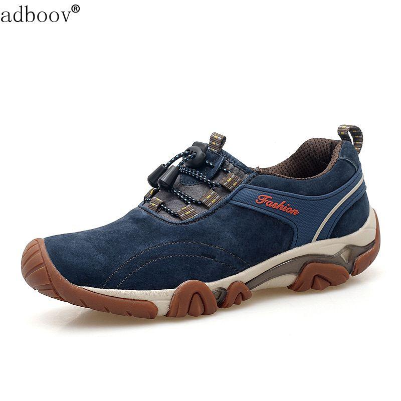 Être durable hommes de vache musculaire semelle chaussures top cuir de porc qualité homme classique de printemps de l'automne sur chaussures bande élastique peau de porc chaussures