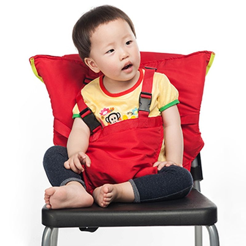 Baby Portable Seat Kids Feeding Chair for Child Infant Safety Belt booster Seat Feeding High Chair Harness <font><b>Carrier</b></font> BB0029