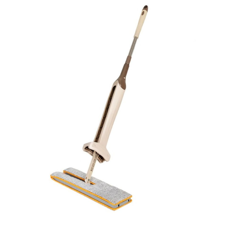 Self-Wringing Double Sided Flat Mop Telescopic Comfortable Handle Mop Floor Cleaning Tool For Living Room Kitchen Drop shipping