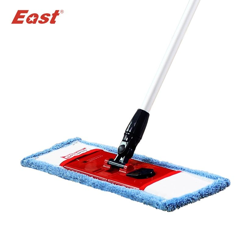 East flat telescopic pole microfiber cloth towel mop home <font><b>floor</b></font> kitchen living room cleaning dust mop supplier