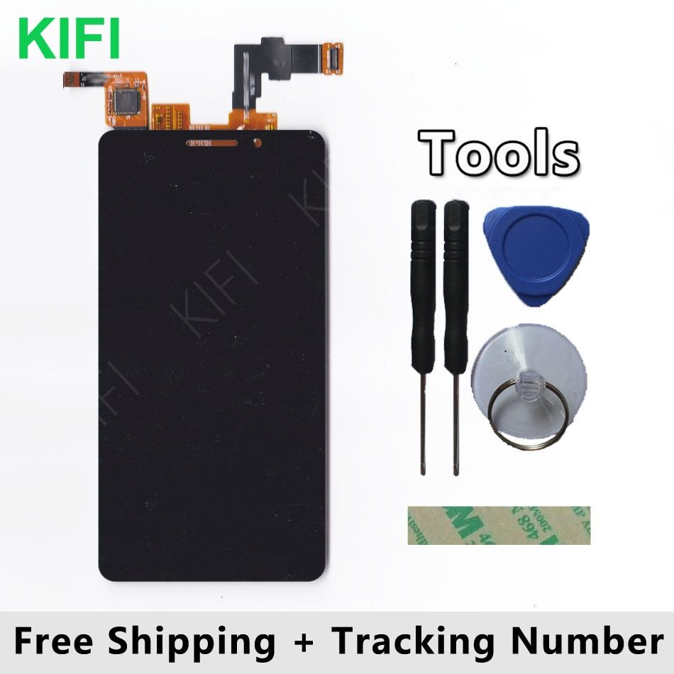 KIFI 100% QC PASS LCD Display + Touch Screen Digitizer Glass Panel For teXet TM-4677 TM 4677