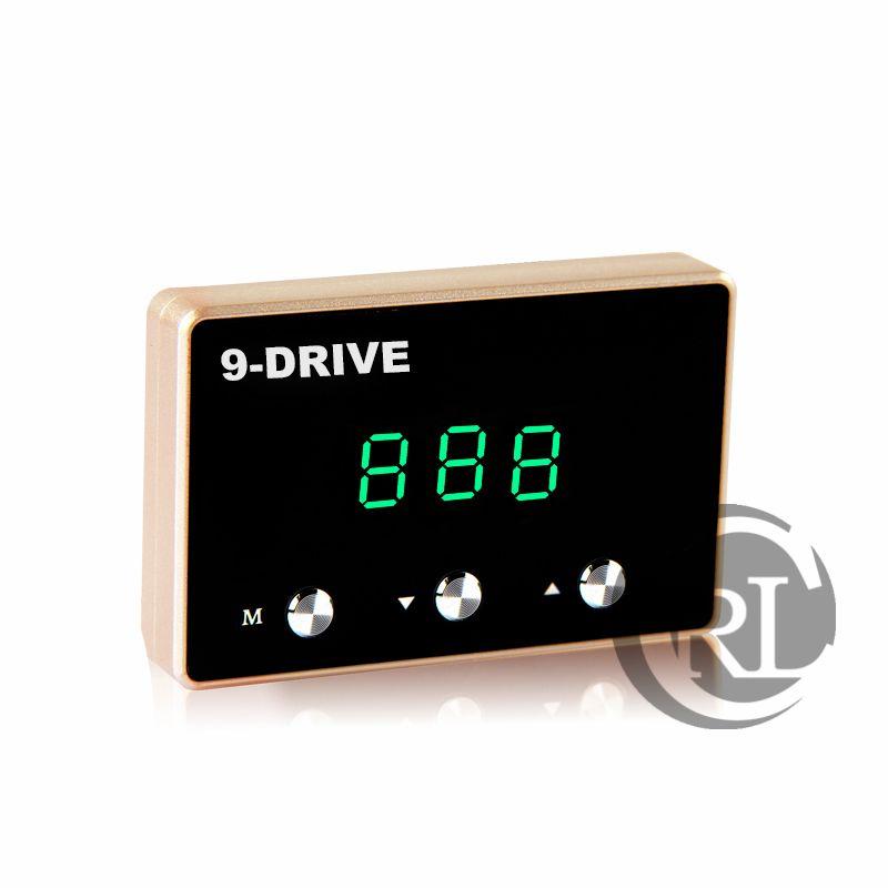 9 mode selectable LED blue Auto throttle controller Sprint booster pedalBooster ECM control for kia ceed cerato rio sportage