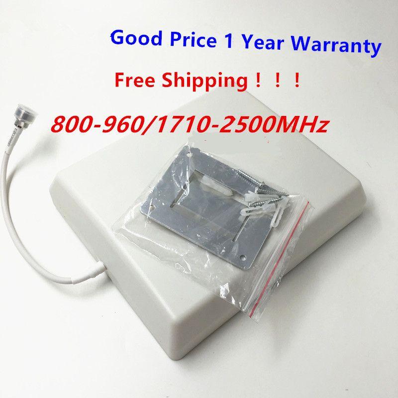 Крытый Панельная Антенна 800-2500 мГц Антенна внутренняя панель для WI-FI GSM 3 г DCS CDMA сотовом телефоне ретранслятор сигнала усилитель