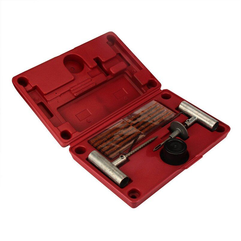35 Pieces Tire Repair Tool Kit W/Case Plug Patch New 2017 tackle tools tires car accessories car-styling 2017 new drop shipping