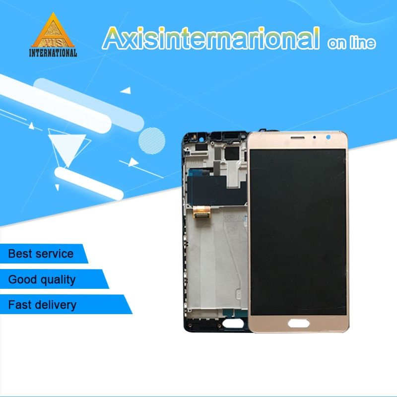For 5.5 Xiaomi Redmi Pro hongmi pro OLED LCD Display Screen +Touch digitizer with frame Black/gold/white Free shipping