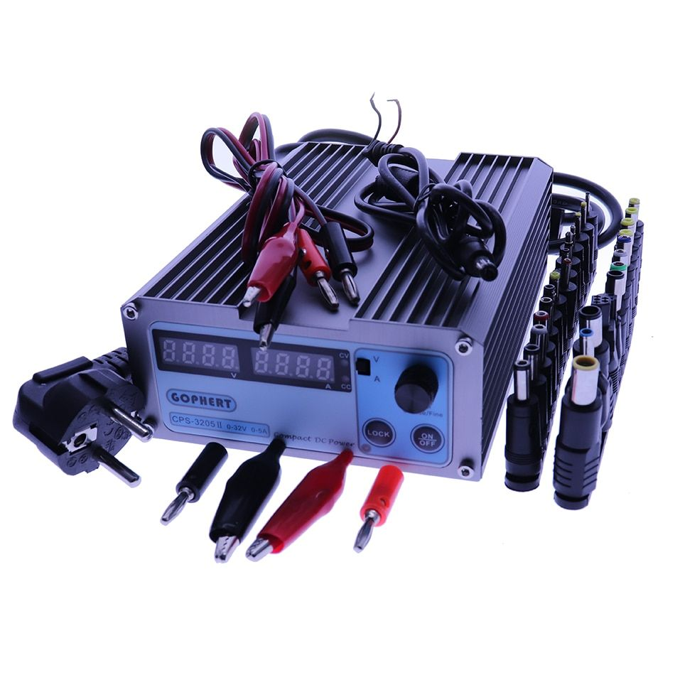 CPS 3205II DC Power Supply adjustable Digital Mini Laboratory power supply 32V 5A 0.01V 0.001A Voltage Regulator dc Power Supply