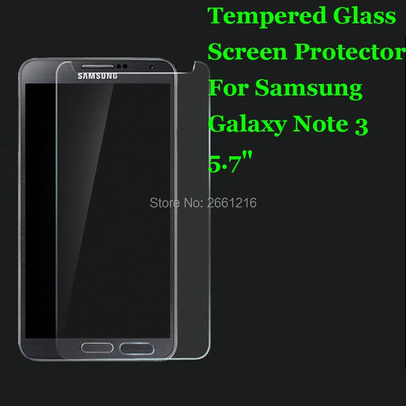 Note 3 Tempered Glass 9H 2.5D Premium Screen Protector Film For Samsung Galaxy Note 3 III N9000 5.7