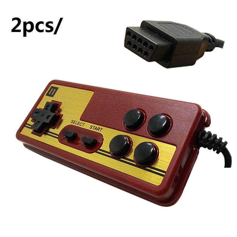 Griff für die NES 9 polige buchse griff controller gamepads leitungslänge 1,8 meter