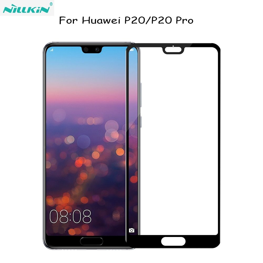 For huawei P20 NILLKIN Amazing 3D CP+ Full Coverage Nanometer Anti-Explosion Tempered Glass Screen Protector For huawei P20 Pro