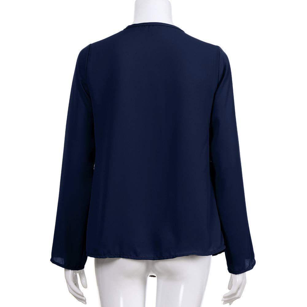 15 stück Frauen Herbst Solide Chiffon Tops Lange Shirts Casual Voll Leinwand Flügel-hülse O-ansatz Solide