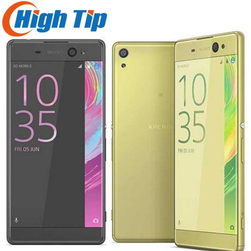 Unlocked Original Sony Xperia XA 13MP 5.0 Inch Camera Android 2GB RAM 16GB ROM Octa-core Single/Dual Sim WIFI 1080P Mobile Phone