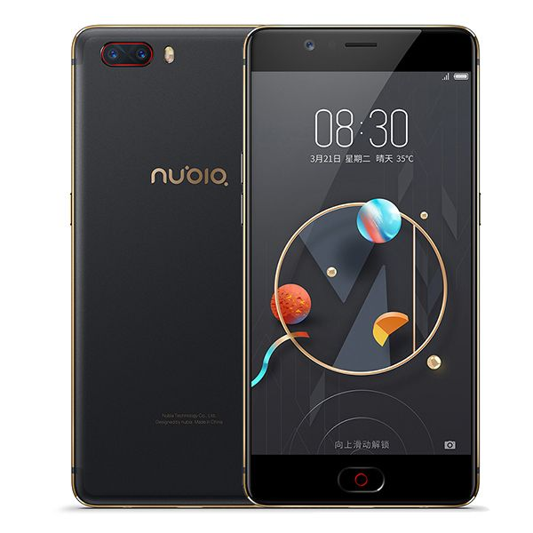Global Version Nubia M2 4GB RAM 128GB ROM Mobile Phone Snapdragon 625 Octa Core 5.5