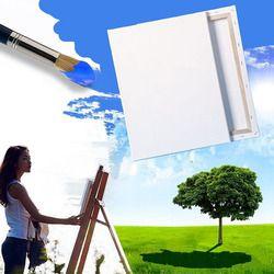 Peinture Toile De Toile De Coton Blanc Panneaux Carré Monté Art Artiste Conseils Peinture Outil Artisanat C26