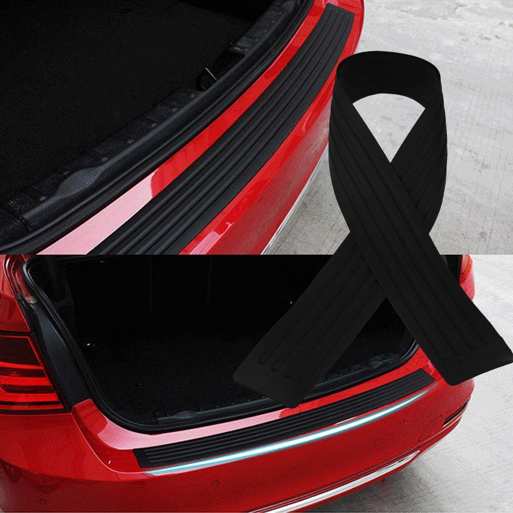 Car Styling Noir 90 cm Caoutchouc Pare-chocs Garde Protecteur Porte Bord Bande de Garniture Noir Pare-chocs de Haute Qualité Styling Moulage