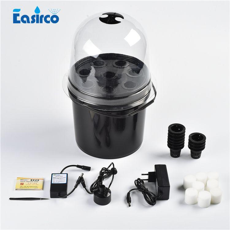 8 чистая чашка туман пропагатора аэропонного ведро с таймером циклов горшка. Бесплатная доставка