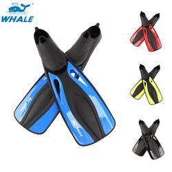 Whale FN-600 Snorkeling Menyelam Renang Sirip Dewasa Fleksibel Kenyamanan Renang Sirip Submersible Kaki Sirip Sirip Olahraga Air