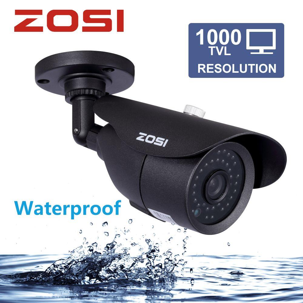 ZOSI HD 960 H 1000TVL CMOS 42 pcs Led IR Haute Résolution Jour/nuit Étanche Intérieure/Extérieure CCTV caméra avec Support