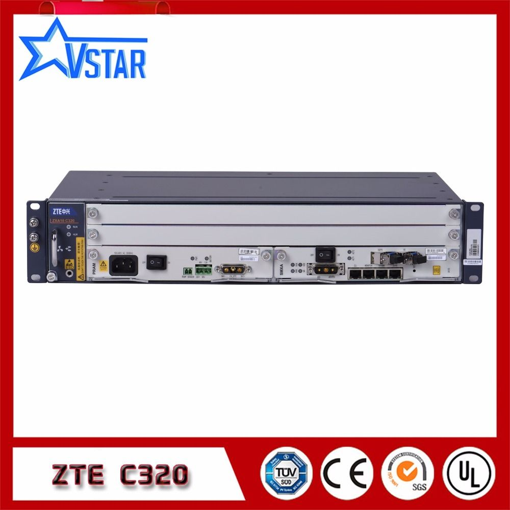 Original ZTE 2U ZXA10 C320 GPON/EPON OLT high-integration equipment of small model Optical Line Terminal