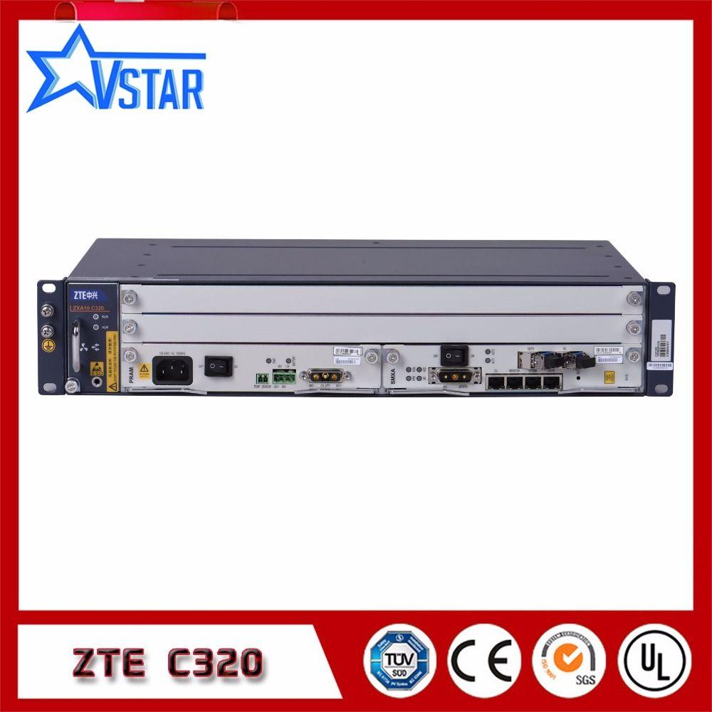 Ursprüngliche ZTE 2U ZXA10 C320 GPON/EPON OLT high-integration ausrüstung von kleinen modell Optical Line Terminal