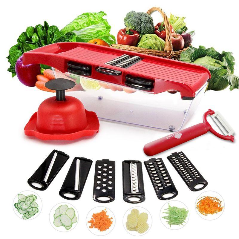 Légumes Trancheuse Râpe Mandoline Peeler Cutter Multi-fonction Carotte Oignon Fruits Outils Accessoires de Cuisine de Cuisson