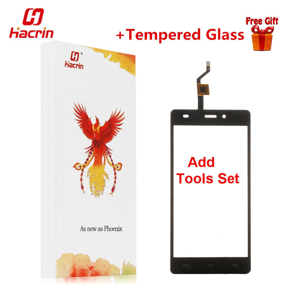 hacrin Doogee X5 Touch Screen + Tools Set Gift 100% new Digitizer Glass Panel Assembly Replacement For Doogee X5 Cell Phone