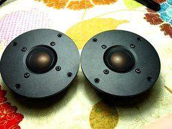 pair 2pcs Melo David  audio hifi copper&Beryllium dome tweeter . KO XT25 D25 D2095 9300