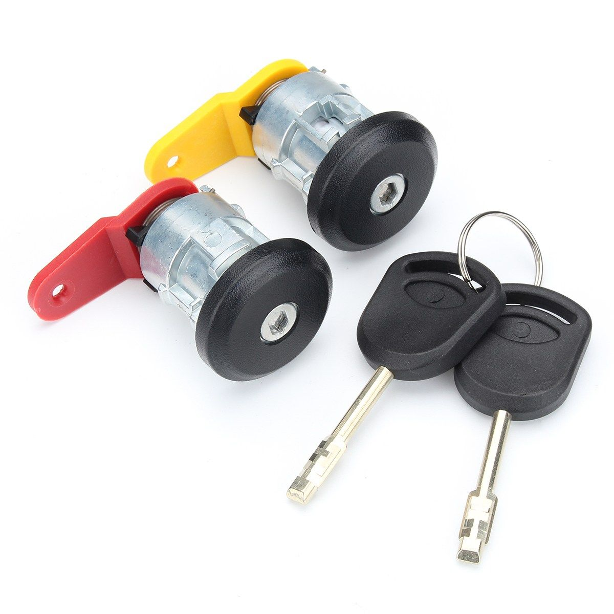 Car Door Lock Complete Set With 2 Keys Front Right Left For Ford Escort /Fiesta KA COURIER 1995-2002