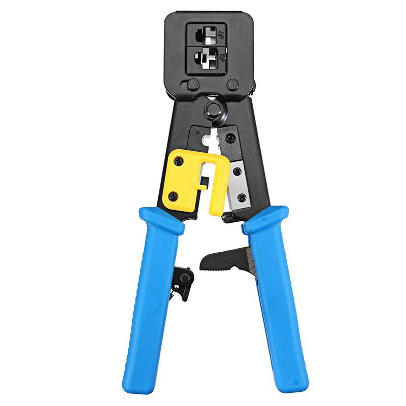 S SKYEE RJ11 RJ45 6P 8P Network Pliers Tools Multi-function Cable Cutter Piercing Crystal Head Crimping Dual-purpose Pliers