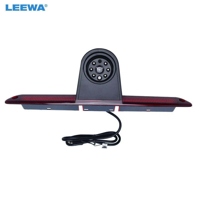 LEEWA Car LED Brake Light IR Rear View Reversing/Parking Camera For Mercedes Sprinter/VW Crafter 2007-2015  #CA5374