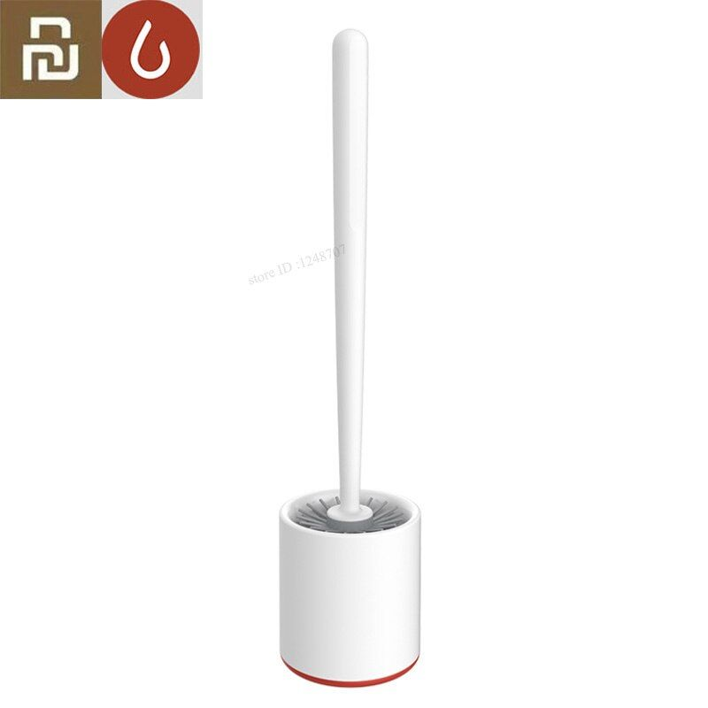 Xiaomi Mijia YJ Floor-standing Set with Base Toilet Cleaning Long Bathroom Brush for Toilet WC Accessories