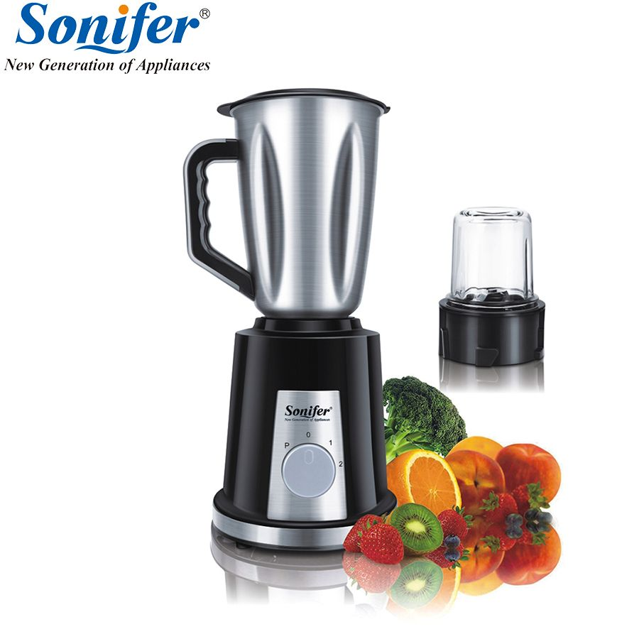 Multifunction electric food blender mixer kitchen glass stainless steel standing blender vegetable Meat Grinder Sonifer
