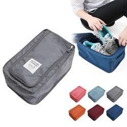Pratique De Stockage De Voyage Sac En Nylon 6 Couleurs Portable Organisateur Sacs Chaussures De Tri Poche multifonction