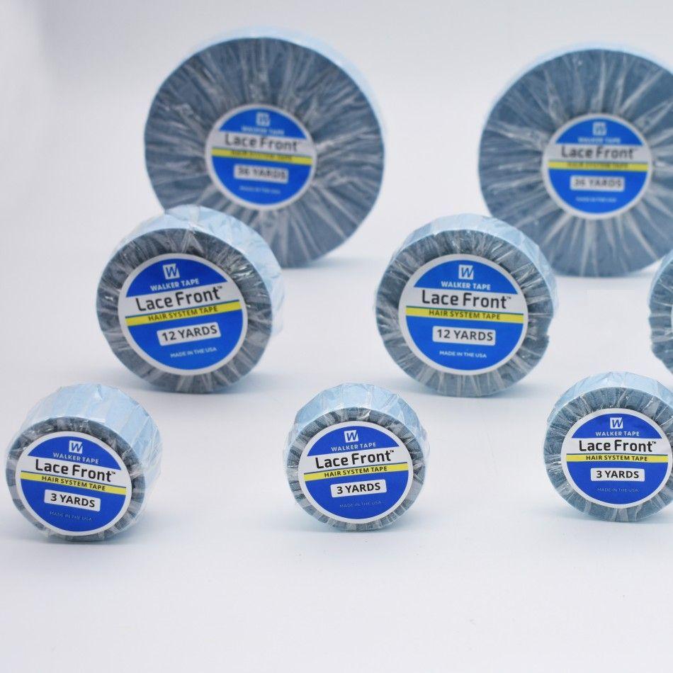 Azul Peluca de Encaje Soporte Frontal de la Cinta Adhesiva de Doble Cara Para la Extensión Del Pelo/Peluca/Peluca de Encaje/Pu Extensión