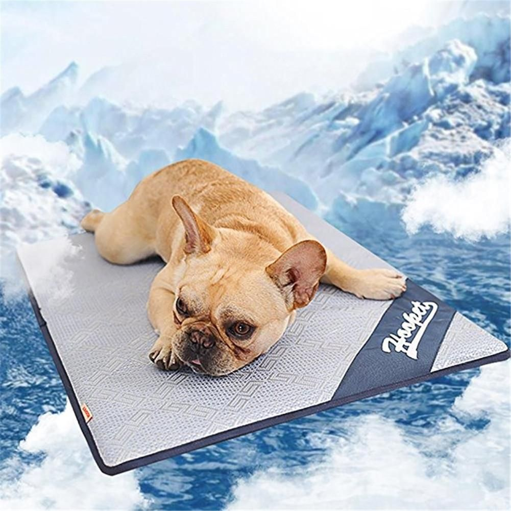 Pet Dog Summer Cooling Mat Mattress Cooler Mat For Cat Teddy Small Large-sized Dog Bed Mats Nest Summer Ice Rattan Mat Cushion