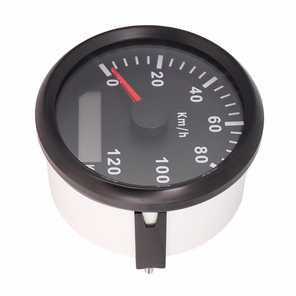 120km/h Speed Meter Waterproof 85mm Marine Boat GPS Speedometer Gauge For Car Boat Motorcycle 9~32V Speed Sensor