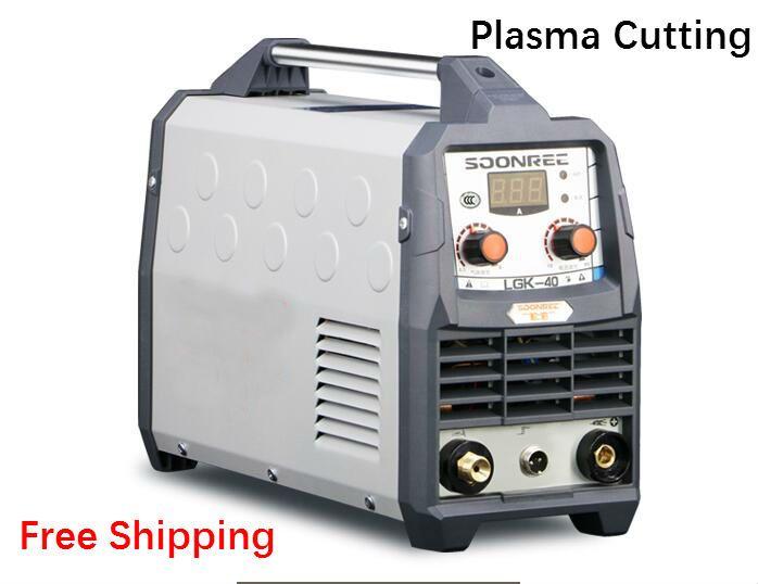 Free shipping Plasma Cutting Machine LGK40 CUT50 220V voltage Plasma Cutter With PT31 Digital display machine Quality cutting