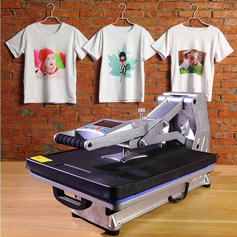 ST-4050A 40x50CM Hydraulic Sublimation Printer Heat Press Machine T-shirt Printing Machine Phone Case/Bag/Puzzle/Rock/Glass