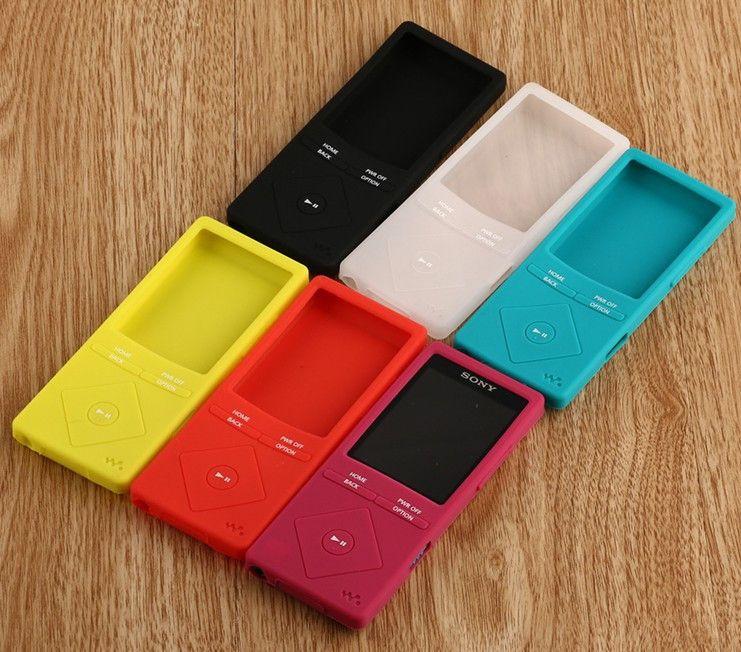 Модные резиновые гель силиконовый чехол для Sony MP3 NWZ a15 A17 Мягкий защитный чехол для Sony a25 a27 a15 A17