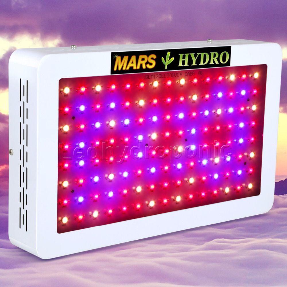 Mars 600W LED Full Spectrum Grow Light Hydroponic System for Indoor Garden