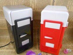 2016USB Mini Fridge cold and hot refrigeration system hot small refrigerator  car kit cosmetics