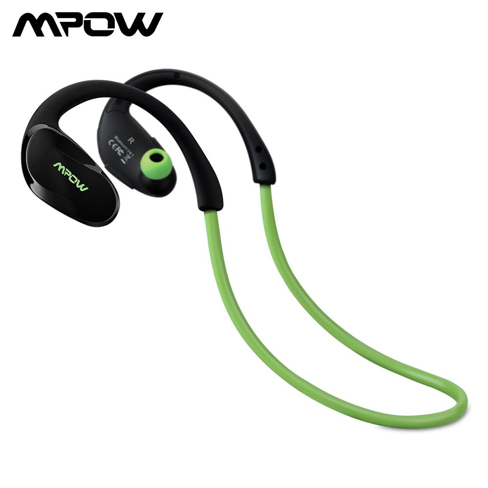 Mpow MBH6 Updated Cheetah 4.1 Bluetooth Headset <font><b>Headphones</b></font> Wireless <font><b>Headphone</b></font> Mic AptX Sport Earphone for iPhone Android Phone