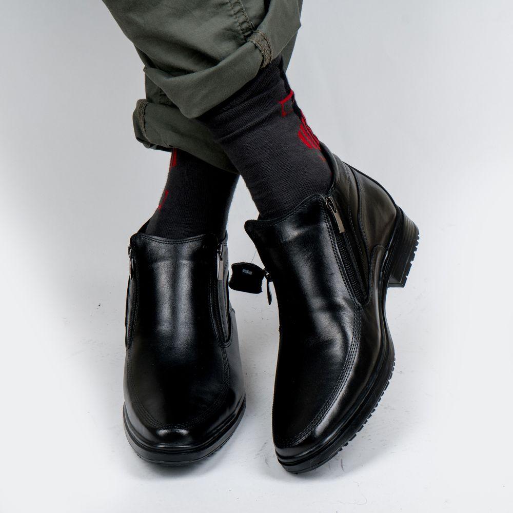 DOF Bull Leder Männer Stiefel Frühling Herbst Und Winter Mann Schuhe Ankle Boot männer Schnee Schuh Arbeit Plus Größe 39-46 000-008