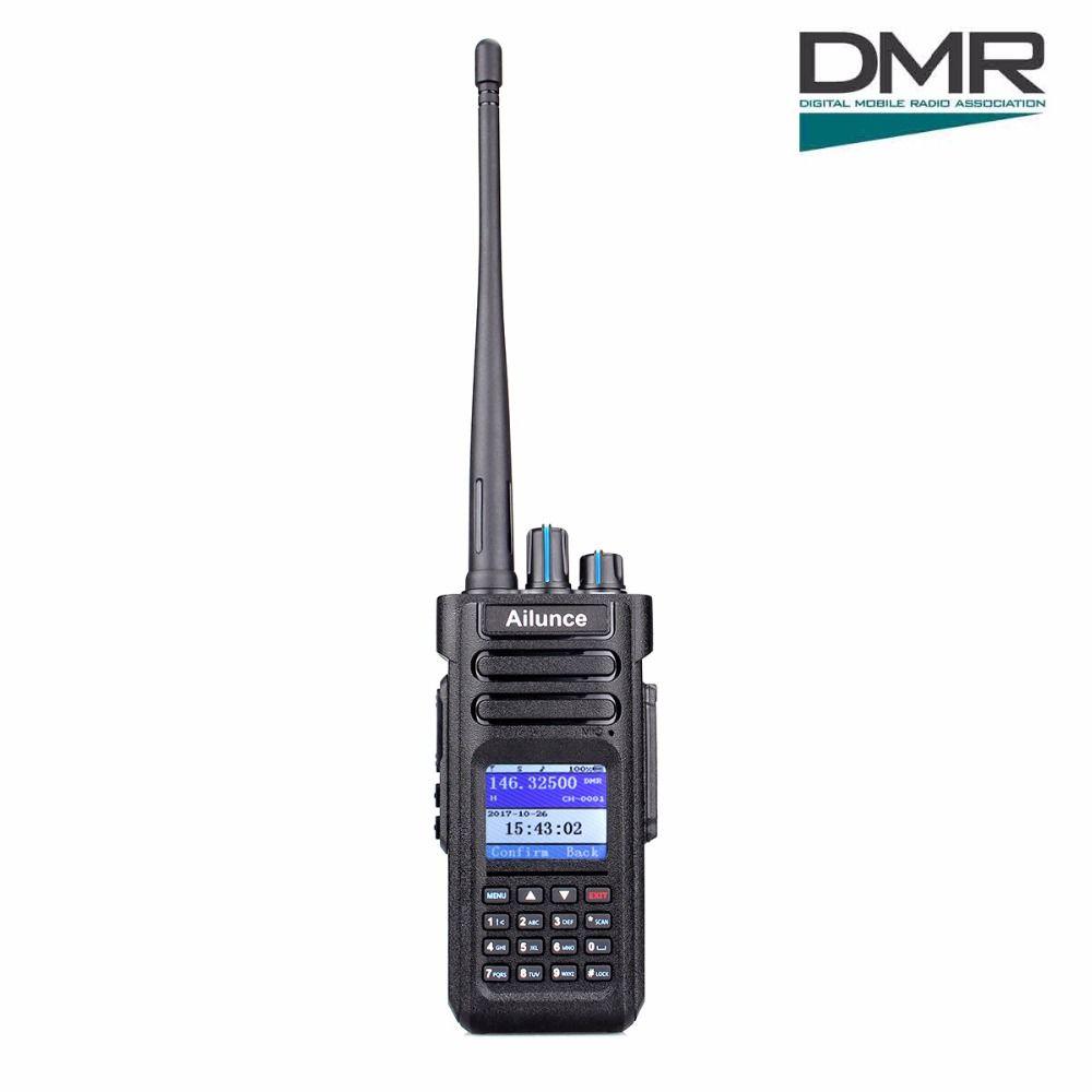 Retevis Ailunce HD1 Dual Band DMR Digital DCDM TDMA VHF UHF Waterproof Walkie Talkie Ham Radio Hf Transceiver