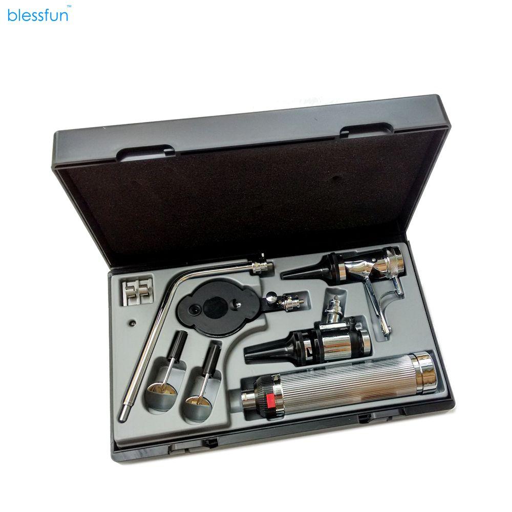 Ensemble multi-usages Blessfun Kit de diagnostic médical professionnel orl dispositif de diagnostic ophtalmoscope Otoscope de soins auditifs directs