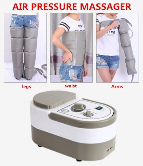 Air Pressure Massaging Machine Whole Body Massager Release Edema Varicosity Myophagism Body With Free Arm and Leg Sleeve