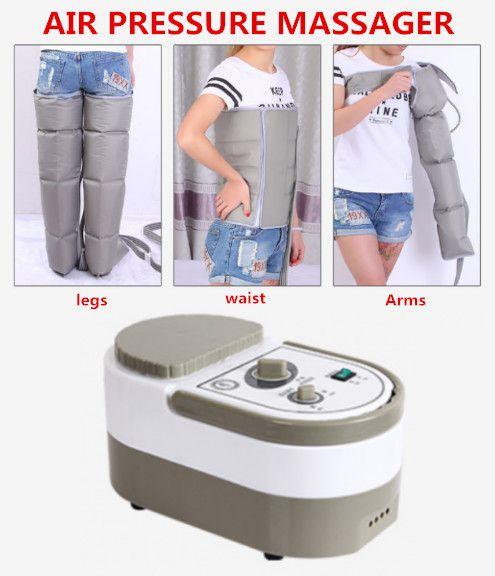Luftdruck Massieren Maschine Ganzen Körper Massager Release Ödeme Varicosity Myophagism Körper Mit Freien Arm und Beinmanschette