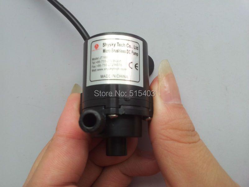 Mini 6 V-12 V DC Brushless petite pompe à eau pompe à moteur Submersible 1.8 M 230L/H livraison gratuite