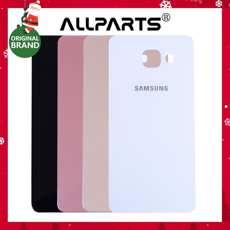 New Housing Glass Cover For Samsung Galaxy A5 2016 Back Cover Case A510 SM-A510F A510FD Battery Rear Door Replacement Parts